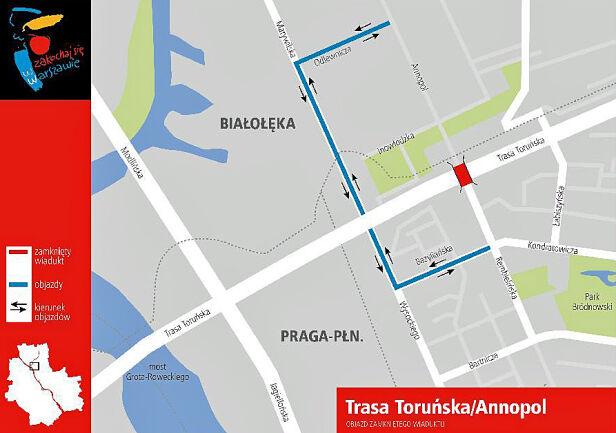 Kliknij na mapę, aby powiększyć - fot. Urząd m.st. Warszawa