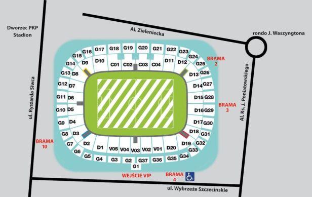 Rozkład wejść i sektorów Stadionnarodowy.org