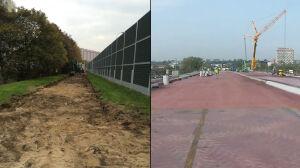 Budują nową drogę rowerową na Pradze