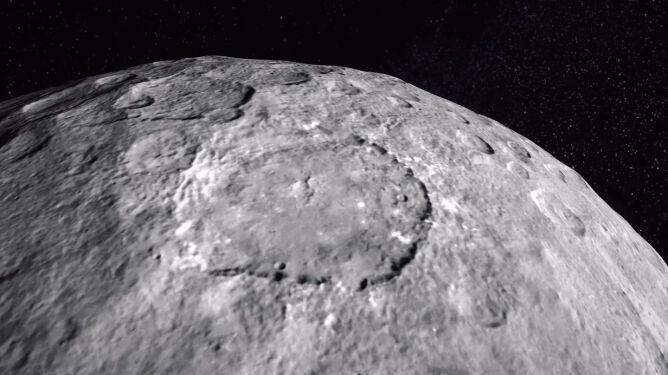 NASA zabiera Was na kosmiczną wycieczkę. Poznajcie Ceres