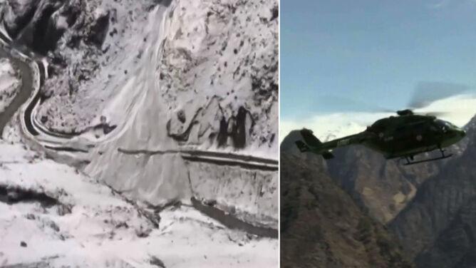 Pękł lodowiec, zeszła potężna lawina. Zginęło co najmniej osiem osób
