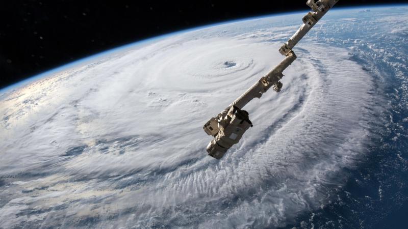 Florence widziany z kosmosu (PAP/EPA/NASA/HANDOUT)
