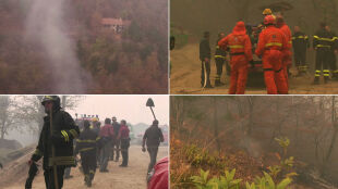 """Pożary w pobliżu Turynu, ofiara śmiertelna. """"Płomienie sięgały 20 metrów"""""""