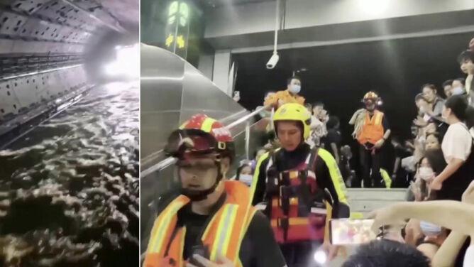 """""""Ktoś zarządził, żeby nie rozmawiać, aby nie marnować tlenu"""". Horror w chińskim metrze"""