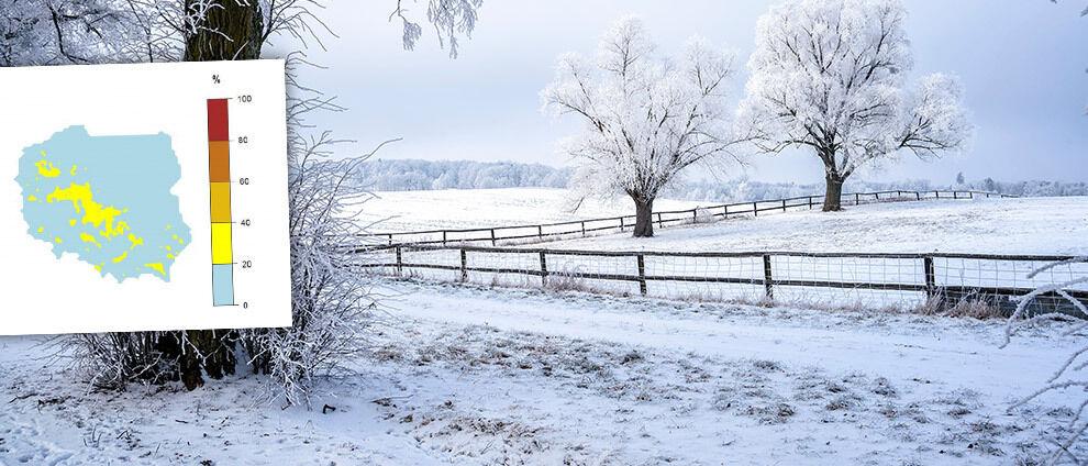 Jaka będzie zima w Polsce? Prognoza IMGW